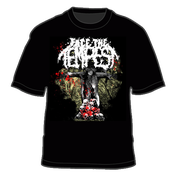 "Image of ""Scarecrow"" Face the Tempest Black T-Shirt"