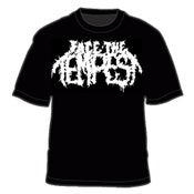 "Image of ""Face the Tempest"" (White Logo) Black T-Shirt"