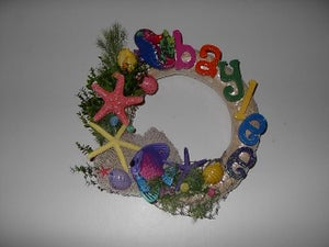 Image of Personalized Baby Wreaths
