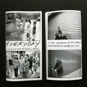 "Image of ""EVERYDAY"" ZINE-- A SPLIT PHOTOZINE BY CHRISSY PIPER AND BRIAN MARYANSKY"