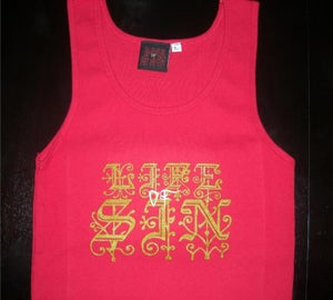 Image of LOGO TANK TOP RED