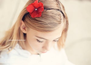 Image of Red Posey Headband