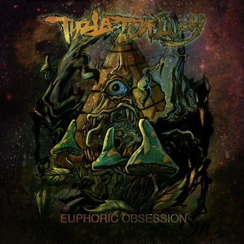 Image of EUPHORIC OBSESSION [6 panel booklet]-Hard Copy