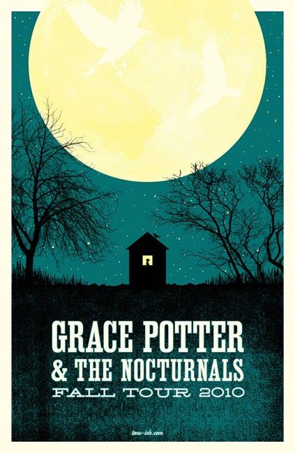 Image of Grace Potter & The Nocturnals - Fall Tour 2010 #1