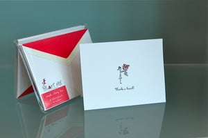 Image of Thanks a Bunch Thank you Notecards 10-pack