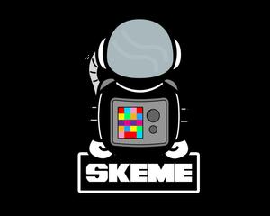 Image of Skeme Logo Sticker