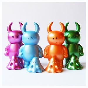 Image of Dazed Uamou with Boo - Metallic Colors