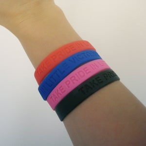 "Image of ""Take Pride in Little Victories"" Amy Kuney Bracelet"