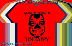 Image of Unhappy - Mask Murderer T-Shirts