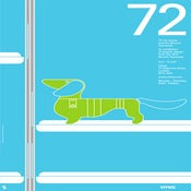Image of 72: Otl Aicher (blue)
