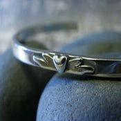 "Image of ""I am Blessed to have a Friend like You"" sterling cuff bracelet"