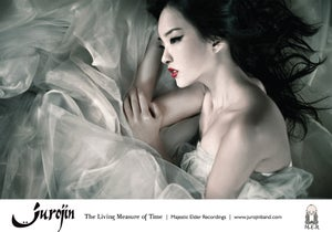 """Image of Poster """"The Living Measure of Time"""""""
