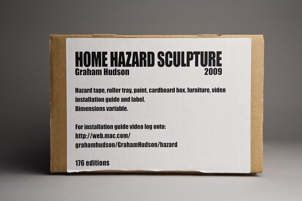 Graham Hudson, <i>Home Hazard Sculpture</i>, 2009
