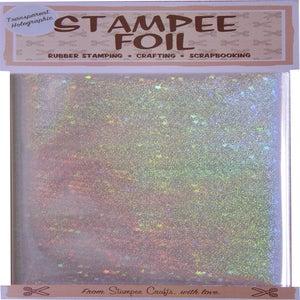 Image of Transparent Stars Holographic Foil