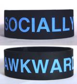 Image of Socially Awkward Bracelet [black]