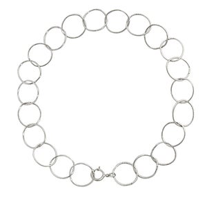 Image of ETERNITY BRACELET SILVER