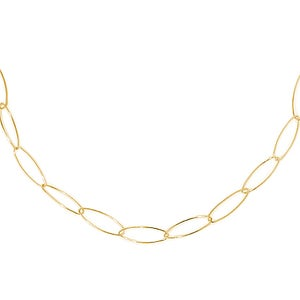 Image of LONG ELLIPTICAL NECKLACE