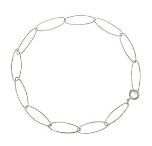 Image of ELLIPTICAL BRACELET SILVER