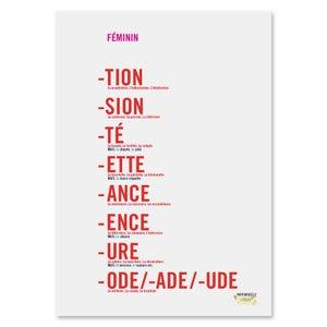 Image of Feminine Endings Poster