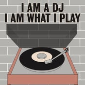 Image of I am a DJ screen print by Claudia Varioso