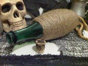Image of Plastic Rum Bottle