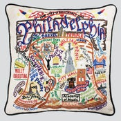 Image of Philadelphia pillow