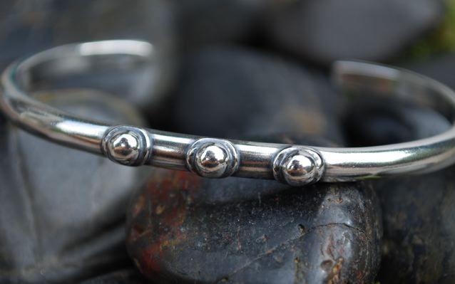 """Image of """"I AM A SURVIVOR"""" sterling cuff bracelet"""