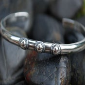 "Image of ""I AM A SURVIVOR"" sterling cuff bracelet"