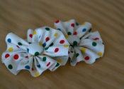 Image of Polka Dot Flower Clip