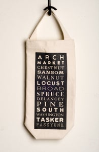 Image of Philly Streets wine tote