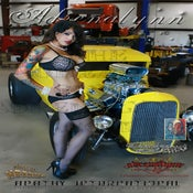 Image of Adrenalynn 1932 Ford Coupe Pinup Poster [Signed]