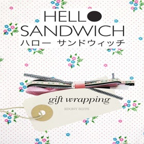Image of Hello Sandwich Gift Wrapping Zine PDF