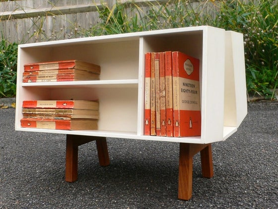 Image of Vintage Penguin Donkey Mark II designed by Ernest Race circa 1963 for Isokon