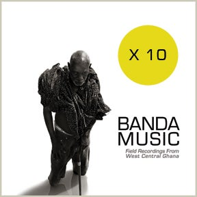 Image of Banda Music: Field Recordings From West Central Ghana [10 PACK]