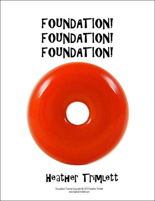 Image of TUTORIAL: Foundation! Foundation! Foundation! (download)