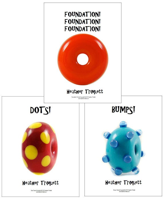 Image of TUTORIAL SPECIAL: Purchase Foundation!, Dots!, and Bumps! together and SAVE! (download)