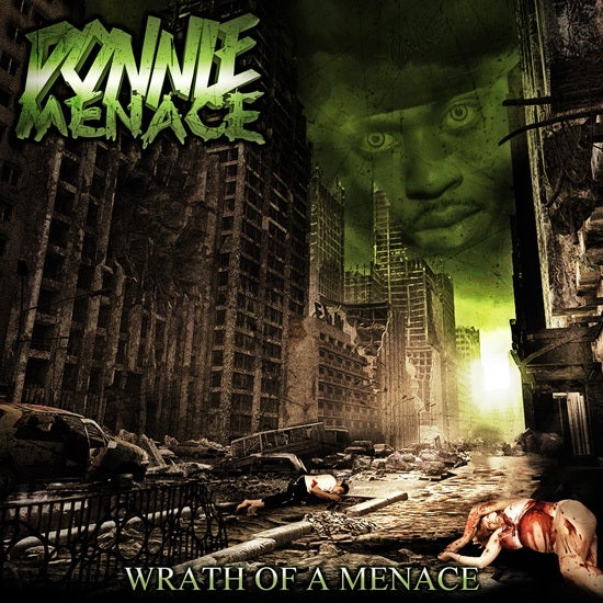 """Image of Donnie Menace """"Wrath Of A Menace"""" CD"""