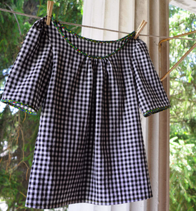 Image of my favorite gingham top made just for you