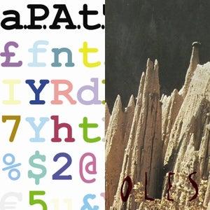 Image of a.P.A.t.T. / Peepholes 'Split' LP