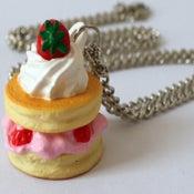 Image of dessert necklace (pancake)