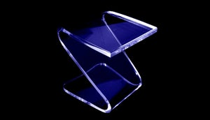 Image of Acrylic Z Bench Stool