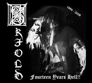"""Image of SKJOLD """"Fourteen years Hell"""" Digi-pack CD"""