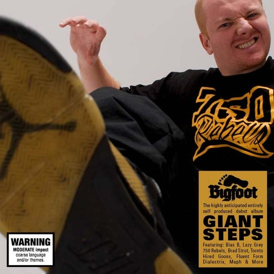 Image of BTE017 - BIGFOOT - Giant Steps
