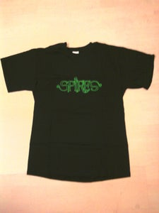 Image of Spires T-Shirt - Black with Green or Purple Logo