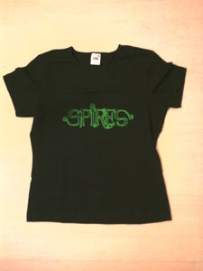 Image of Spires Girl's Skinny T-Shirt - Green or Purple