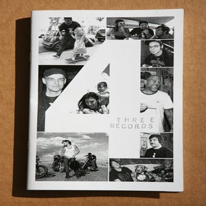 Image of THREE RECORDS ZINE #4