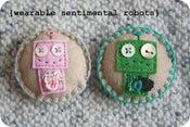 Image of wearable sentimental robots