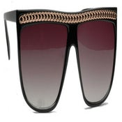 Image of Chain Flat Top Sunglasses
