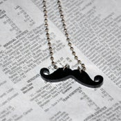 Image of Tiny Mustache Necklace