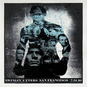 Image of Swingin' Utters poster San Francisco 7.31.10